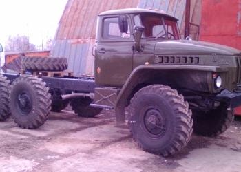 Урал 4320 ( вездеход 6х6, двигатель-Камаз-740, с воен.хранения).