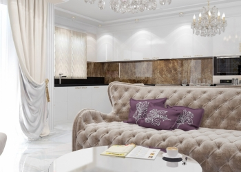 Авторский дизайн интерьера Крым, Симферополь, Ялта, Севастополь от Vitta-Group (
