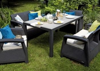 Комплекты уличной мебели для дачи, кафе, ресторанов