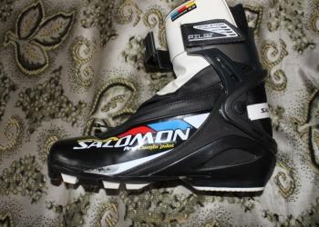 Лыжные ботинки Salomon (комбики)