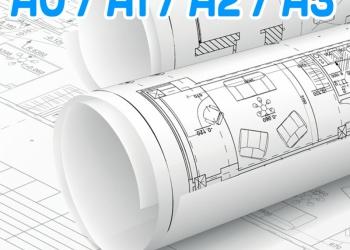 Печать Чертежей A0 A1 A2 A3 A4 Ростов-на-Дону