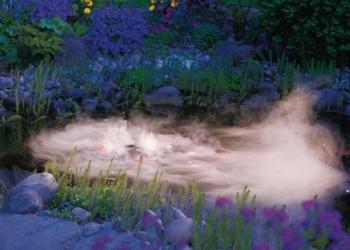 Холодный туман в водоеме