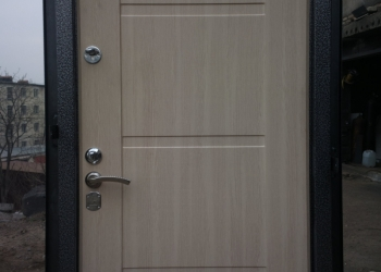 МДФ фасады на металлические  двери.