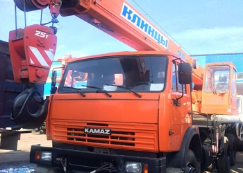 Продам Автокран на Шасси Камаз 65115-62, 2013г.в