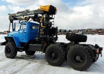 Купить седельные тягачи Урал 2016 г.в. с манипуляторами