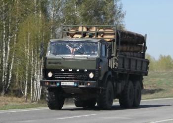 Лесовоз КАМАЗ 4510