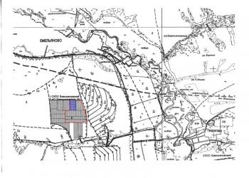 Продам земельный участок 15 сот. рядом с Емельяново.