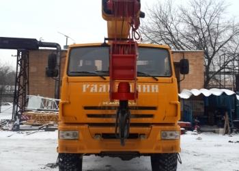 Автокран КС-557135В «Галичанин» 25т  на шасси Камаз 43118 (6*6) НОВЫЙ