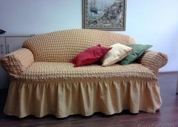 Европейские чехлы (универсальные) на 3-х местный диван