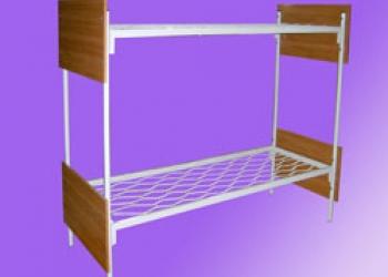 Металлические кровати для общежитий, кровати металлические для интернатов, оптом