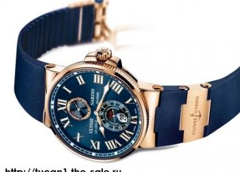 Настоящие мужские часы ULYSSE NARDIN MARINE. Акция!!!