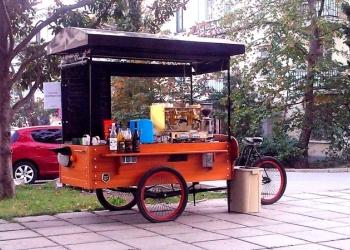Мобильная Кофейня, Вело-кофейня, байк-кафе
