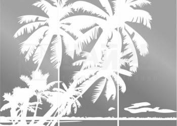 Стекло с рисунком Лазурный берег