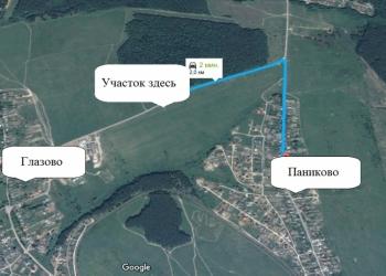Участок в Паниково, Серпуховский район