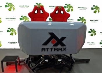 Attrax интерактивный шестистепенной аттракцион на базе Oculus Rift
