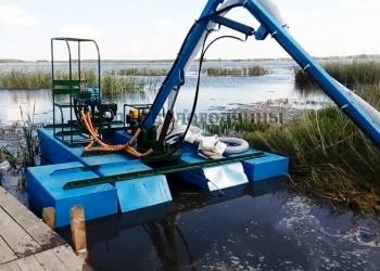 Земснаряд мини для очистки водоёмов