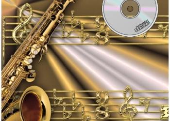 Учитесь играть с фонограммой-ноты и фонограммы для игры на саксофоне