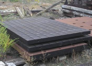 Плиты монтажные стальные новые пазово-разметочно-сборочные и плоские стендовые