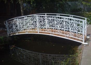 Кованые ворота, балконы, козырьки, перила, решетки от производителя