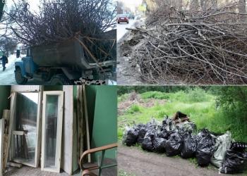 Вывоз Веток Травы Барахла Мусора Старой Мебели в Омске