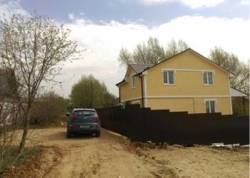 г.Дмитров новый дом 130 кв.м. газ, вода, свет.