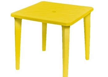 Пластиковые квадратные столы
