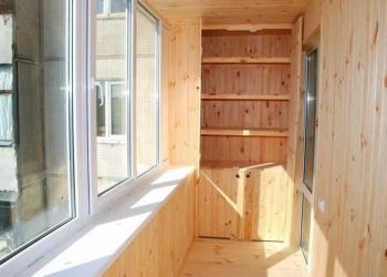 Обшивка балкона вагонкой в заславле - отделка / ремонт засла.