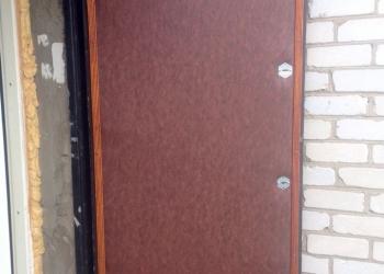 Обивка, утепление,  дверей