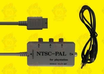 NTSC-PAL converter PS2/PS3 in Box