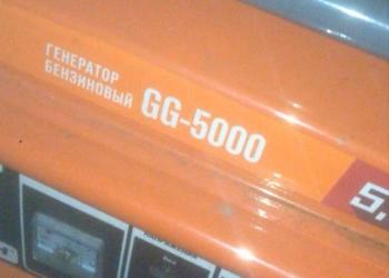 Генератор бензиновый Кратон GG-5000