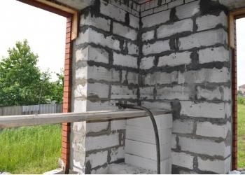 Утепление домов с пустотелой кладкой пеноизолои в Брянске и области.