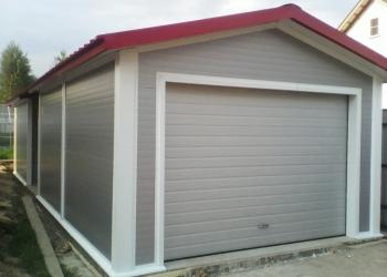 Строим гаражи и другие хозпостройки из сендвич панелей