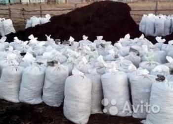 Удобрения в мешках торф, чернозём, перегной и тд