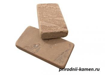 Пиленый природный камень на плитку и брусчатку