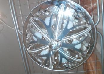 Новая led люстра 6 ламп с бабочками М-07