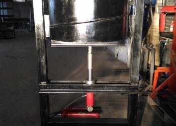 Пресс для гибки лопастей на винтовую Сваю d133-219