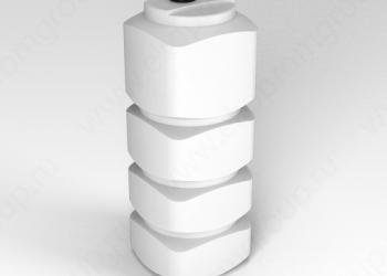 Бочки пластиковые для топлива ЭКОПРОМ от 500 до 2000 литров