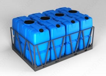 Обрешетки для емкостей – Транспортные кассеты на 2000, 5000, 8000, 1000 литров