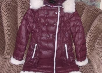 Куртка - пальто ( пуховик ) женск. (L)