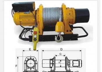Лебедка электрическая, KDJ-500E1 (новая)