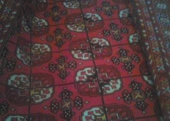 Узбекский шерстяной ковёр 3х4