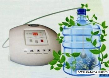 Озонатор - прибор для очистки фруктов, овощей, рыбы, мяса
