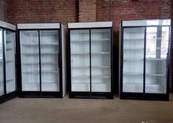 Шкафы холодильные купэ со стеклом Хелкама