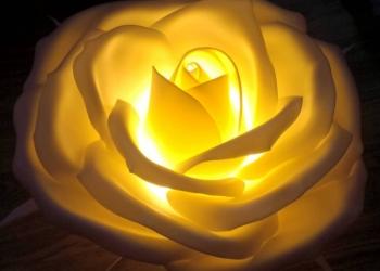 Светильник Роза из изолона