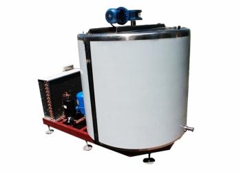 Танк-молокоохладитель МОУ-1000 вертикальный