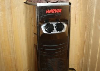 Электропечь каменка для сауны Harvia Vega Compact.