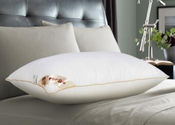 Подушка Tango Gold бамбук, 70х70.