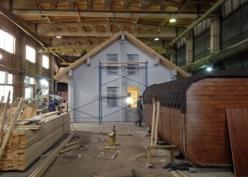 Производство и монтаж домов из бруса