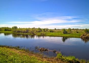 Участок 2 Га. у реки с пропиской, подъезд - асфальт