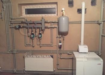 Сантехник Аксай. Монтаж систем отопления.